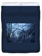 Cedars Of Ice Duvet Cover
