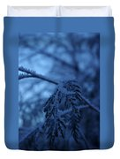 Cedars Of Ice II Duvet Cover