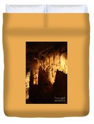Ceiling Formations - Cave Duvet Cover