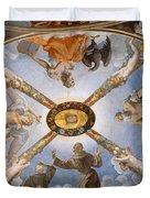 Ceiling Of The Chapel Of Eleonora Of Toledo Duvet Cover