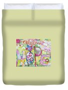Celebrate Hope Duvet Cover