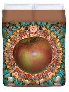 Celebrate The Apple Duvet Cover