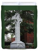 Celebrating The Celtic Heritage At St Patricks Church Duvet Cover