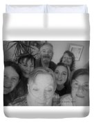 Celebrating With Friends Duvet Cover