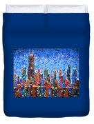 Celebration City Duvet Cover