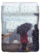 Celebration In Rain A036 Duvet Cover