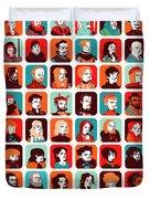 Celebrities Duvet Cover