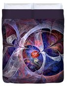 Celestial North - Fractal Art Duvet Cover