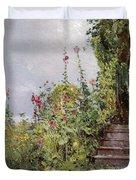 Celia Thaxters Garden Duvet Cover