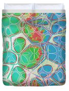 Cell Abstract 10 Duvet Cover