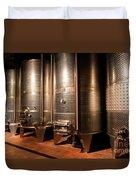 Modern Wine Cellar  Duvet Cover