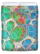 Cells 11 - Abstract Painting  Duvet Cover