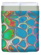Cells Abstract Three Duvet Cover