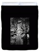 Celtic Cross Detail Killarney Ireland Duvet Cover
