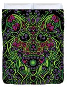 Celtic Day Of The Dead Skull Duvet Cover
