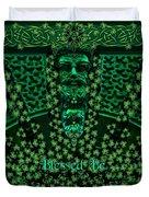 Celtic Green Man Duvet Cover