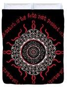 Celtic Lovecraftian Cosmic Monster Deity Duvet Cover