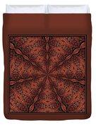Celtic Ribbons Tile K7-2 Bronze Duvet Cover