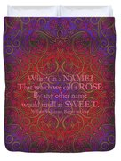Celtic Romeo And Juliet Duvet Cover