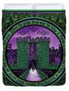 Celtic Sleeping Beauty Part IIi The Journey Duvet Cover