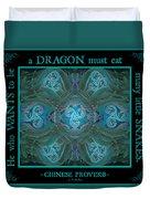 Celtic Snakes Mandala Duvet Cover