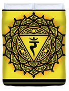 Celtic Tribal Solar Plexus Chakra Duvet Cover
