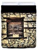 Cement Factory Window Duvet Cover