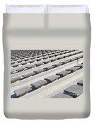 Cement Seats Duvet Cover