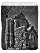 Cemetary Chaple Duvet Cover
