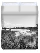 Cemetary Point Boardwalk Duvet Cover