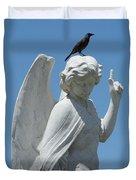 Cemetery Angel Duvet Cover