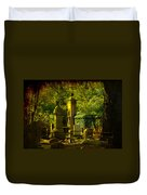 Cemetery In Charleston Duvet Cover