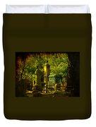 Cemetery In Charleston Duvet Cover
