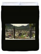 Cemetery In Seychelles Islands Duvet Cover