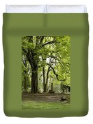 Cemetery  Trees 1 Duvet Cover