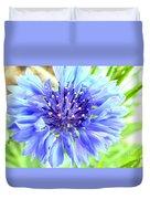 Centaurea Cyanus 1 Duvet Cover