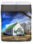Centennial Christian Church Est 1909 Duvet Cover