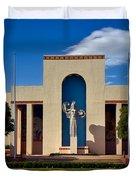 Centennial Hall At Fair Park - Dallas Duvet Cover