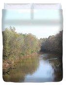 Center River Duvet Cover
