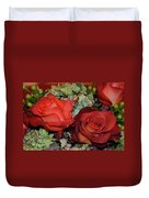 Centerpiece Roses Duvet Cover
