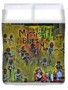 Central B B Q # 3- Memphis Duvet Cover