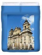 Central Church Guatemala City 1 Duvet Cover