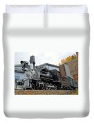 Central City Locomotive Duvet Cover