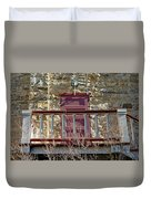 Central City Opera House Door Stage Left Duvet Cover