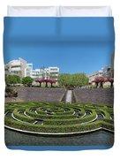 Central Garden Duvet Cover
