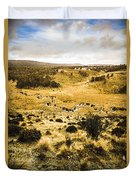 Central Highlands Of Tasmania Duvet Cover