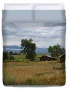 Central Idaho Scene Duvet Cover