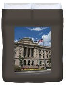 Central Library Milwaukee Duvet Cover