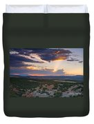 Central New Mexico Sunset Duvet Cover