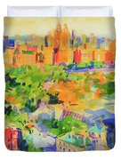 Central Park From The Carlyle Duvet Cover
